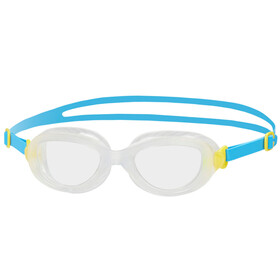 speedo Futura Biofuse Goggles Juniors Blue/Yellow